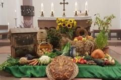 Erntedankaltar 2019 Pfarrkirche St. Michael Damm